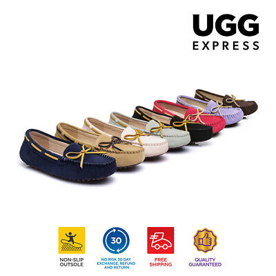AS UGG Ladies Mino lace Moccasin,summer flat loafers