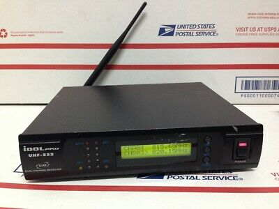 IDOLpro Uhf-333 Dual Channel Receiver