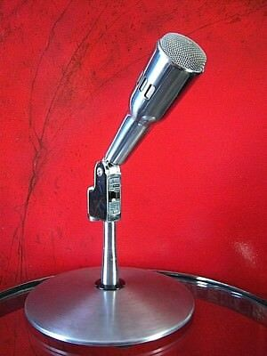 Vintage RARE 1950's Knight 4550 Dynamic microphone old used midcentury # 3