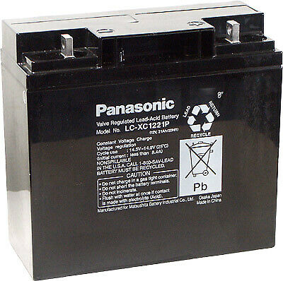 Panasonic LC-XC1221P - Battery