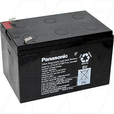 Panasonic LC-CA1215P1 - Battery