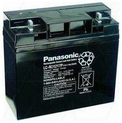 PANASONIC LC-RD1217P - Battery