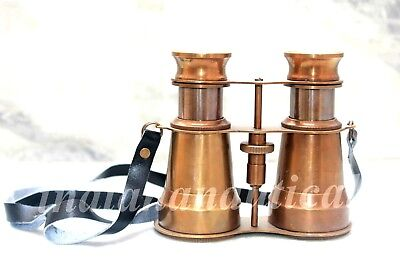 """Solid Antique Binocular 5"""" made for 19th century Royal Navy Collectible Decor"""
