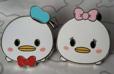 Daisy and Donald Duck Tsum Tsum Mystery Set Pack Lot of 2 Cute Baby Disney Pins