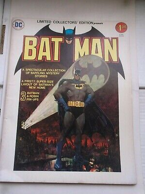 Dc: Limited Collector's Edition, Batman, C-37, All-Villains Issue, 1975, Vf!!!