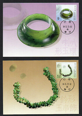 China Taiwan Maxlmum Cards of 2015 Prehistoric Artifacts of Taiwan