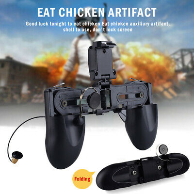 W12 PUGB Mobile Game Controller Free Fire PUBG Mobile Joystick Gamepad Metal Xf4