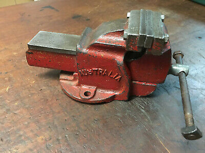 "Vintage 3"" Bench Vice Carter No 3 Australian Made Tools"