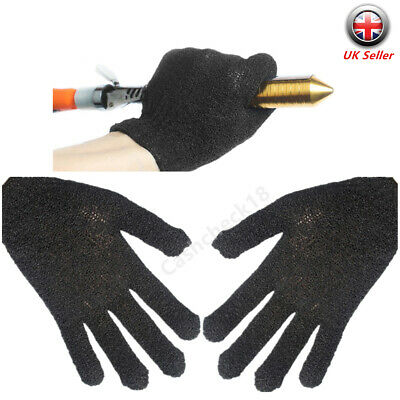 Pair Heat Resistant Hairdressing Straighteners Curling Gloves Protective Glove