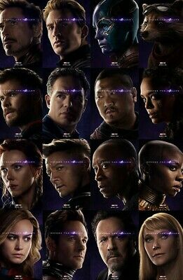 AVENGERS ENDGAME 27x40 DS Light Box Poster Captain America Marvel banner Thor