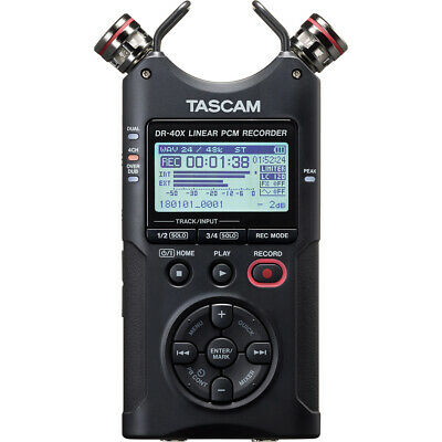 Tascam DR-40X Digital Recorder and USB Audio Interface + FREE 16GB Card Offer