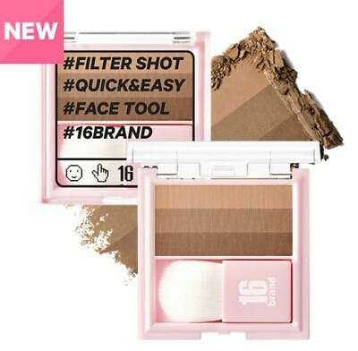 16Brand by Chosungah 16 Filter Shot (2019 New) Quick & Easy 2 Types 7g K-Beauty