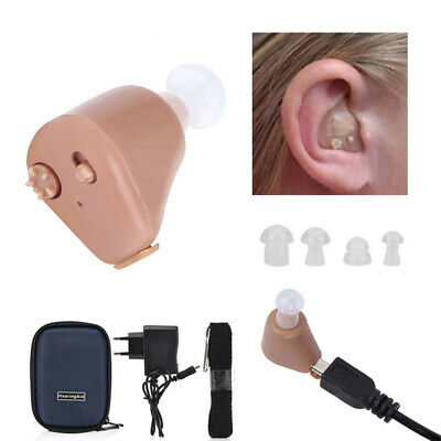 Hearing Ear Aid Rechargeable Mini Hearing Aids Invisible Hear Clear