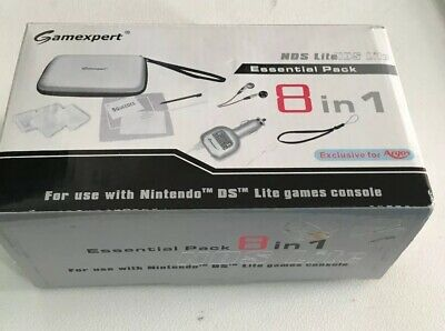 Gamexpert Nintendo DS Lite Essential Pack 8in1 Never Used