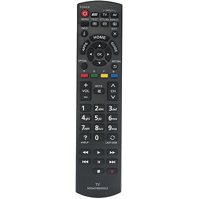 N2QAYB000933 Remote Control for Panasonic TV TH55AS700A TH60AS700A TH60AS700A