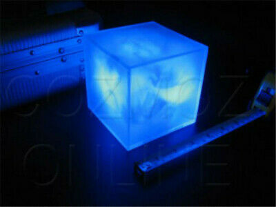 Avengers Tesseract Cube Marvel Infinity War LED Cosplay Prop Battery Power Gift