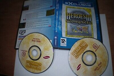 Heroes of Might and & Magic III 3 Complete  PC Collector's edition