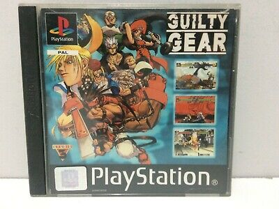 Guilty Gear Sony Playstation PS1 Pal