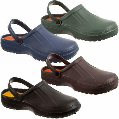 Mens Garden Hospital Nurse Eva Clogs Beach Summer Mules Pool Sandals Shoes Size