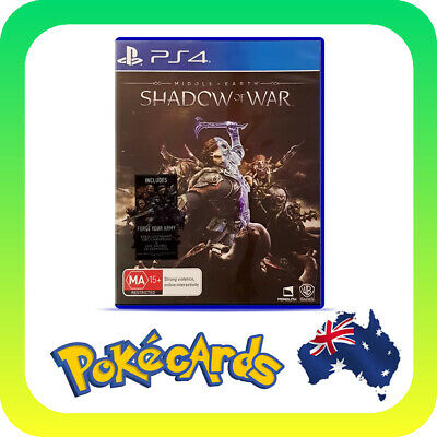Middle Earth: Shadow Of War (PlayStation 4 PS4)