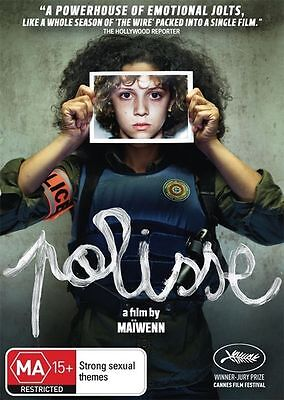 NEW - Polisse (DVD, 2012) Child Protection Unit French RARE - FREE POST