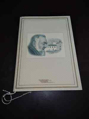 Folder Filatelico Francobolli 1999 Beatificazione Padre Pio