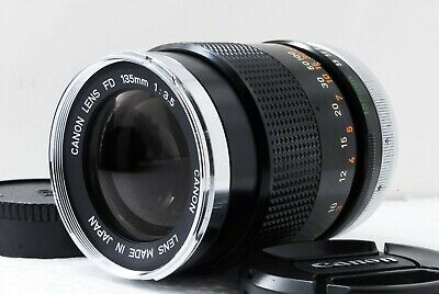 【 Excellent+++ 】Canon FD 135mm f/3.5 MF Lens  from Japan