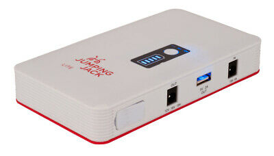 Jumping Jack Lite Emergency Car Jump Starter Leads Portable Battery Charger 400a