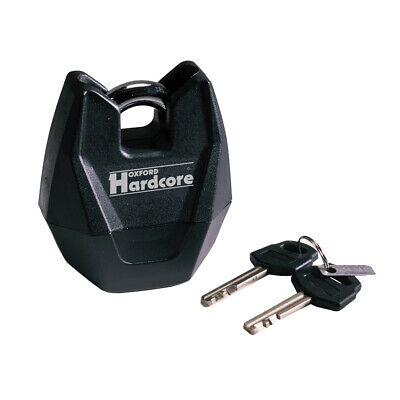 Oxford OF118 Hardcore XL Padlock Motorcycle Motorbike THATCHAM Security 11m Lock