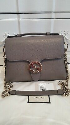c9d33af1449ed6 NWT GUCCI INTERLOCKING G Convertible Shoulder Bag - $1,799.00 | PicClick