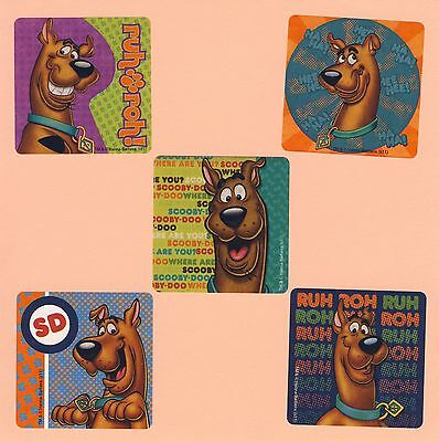 Party Favors Large Stickers 10 Scooby Doo Halloween