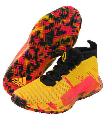 2d1a7633d64 adidas Dame 5 Men s Basketball Shoes NBA Casual Yellow Casual Shoe NWT  BB9315