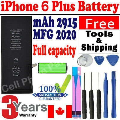 Brand NEW Orignal OEM Replacement iPhone 6 Plus Battery 2915 mAh With Free Tools