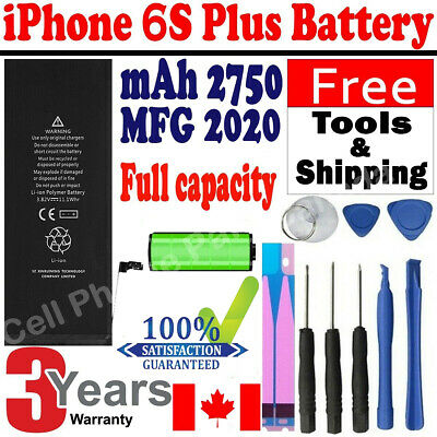 Brand NEW Orignal OEM Replacement iPhone 6S Plus Battery 2750mAh with Free Tools