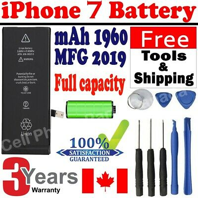 Brand NEW Orignal OEM Replacement iPhone 7 Battery 1960mAh with Free Tools