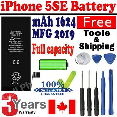 Brand NEW Orignal OEM Replacement iPhone 5SE Battery 1624 mAh With Free Tools