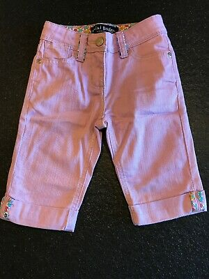 Mini Boden Girls Cropped Jeans NEW Age 3