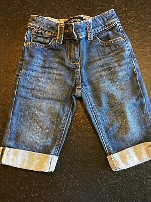 Mini Boden Girls Cropped Jeans Age 3