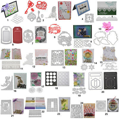 Happy Frame DIY Cutting Dies Stencil Scrapbooking Album Paper Art Embossing