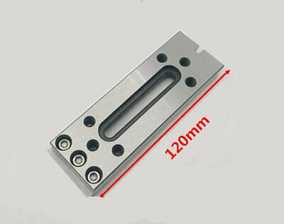 Wire EDM Fixture Board Stainless Jig Tool For Clamping And Leveling 120x50x15mm
