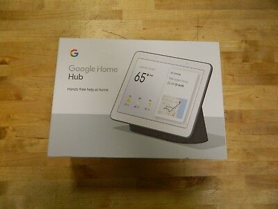 "Google Home Hub with Google Assistant Charcoal Smart 7"" Display SmarGA00515-US"