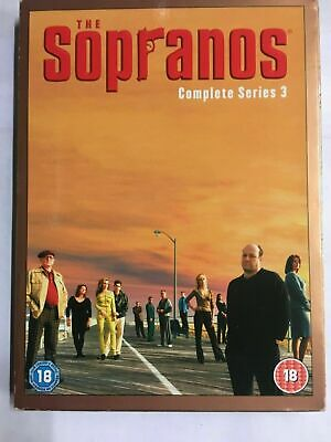 The Sopranos -  Complete Season Series 3 -  DVD  NEW & UNsealed D7