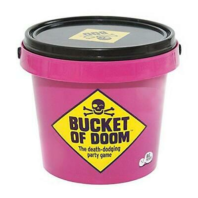 Bucket Of Doom Fun Party Cards Board Game For Adults Disturbed Groups Of Friends