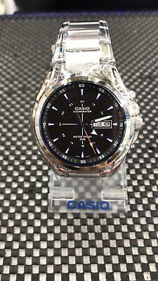 ... Stainless Steel Watch Illuminator Day Date BLUE. $70.84 Buy It Now 17d 22h. See Details. MTP-E200D-1A2 Men's Casio Watches Analog New