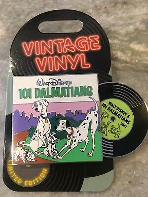 Disney Parks Vintage Vinyl 101 Dalmatians Pin of the Month 2019 LE 3000