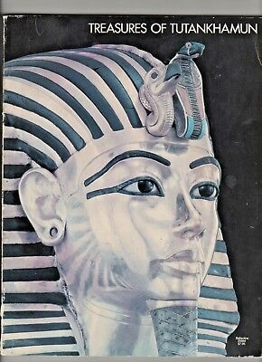 Treasures of Tutankhamun 1976 Ballantine Softcover 1st Ed.