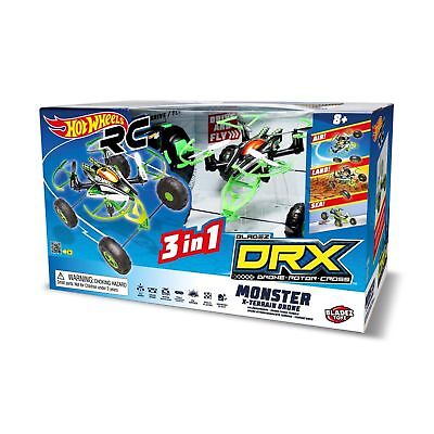 Hot Wheels RC DRX Monster X-Terraine 3 in 1 Drone Remote Control - Bladez Toyz