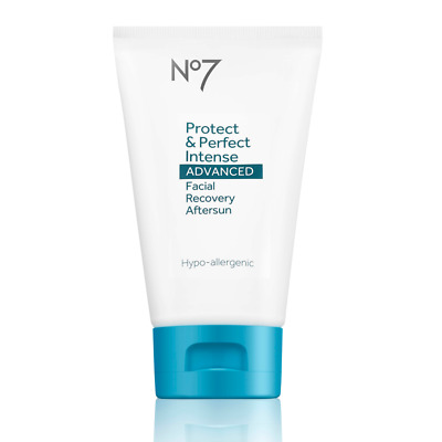 2x No7 Protect & Perfect Intense ADVANCED Facial Recovery Aftersun 2x 50ml BNIB