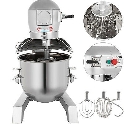 9Qt Electric Food Stand Mixer Dough Mixer Gear Driven pro electric with 3 Speed