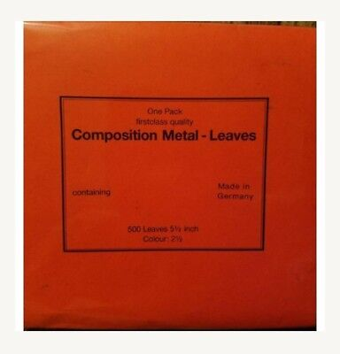 Composition metal-leaves Unopened 500 pack